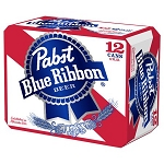 Pabst Blue Ribbon American Lager 12pk cans
