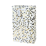Tuxedo Dot Double Bottle Gift Bag