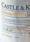 Castle & Key Spring 2020 Recipe London Dry Gin