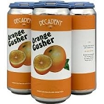 DECADENT ORANGE GUSHER DOUBLE IPA 4 pk 16 oz Cans