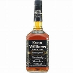 EVAN WILLIAMS BLACK BOURBON 750ML