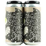 FAT ORANGE CAT ALL CATS ARE GREY White Stout 4 pk 16 oz Cans