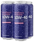 HI-WIRE 10W-40 BLUEBERRY CRUMBLE IMPERIAL STOUT 4 pk 16 oz Cans