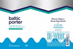 HI-WIRE BALTIC PORTER LAGER 4PK 16 oz Cans