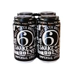 WEST 6TH SNAKE EYES IMPERIAL SYOUT 4 pk 12 oz Cans