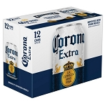 Corona Extra Mexican Lager 12pk cans