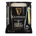 Guinness Draught Stout 4pk cans